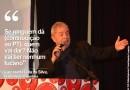 Lula sugere que PT peça 'dízimo' a militantes para sustentar o partido