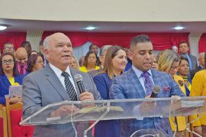 Pastor José Pedro Teixeira e pastor Adriano Teixeira